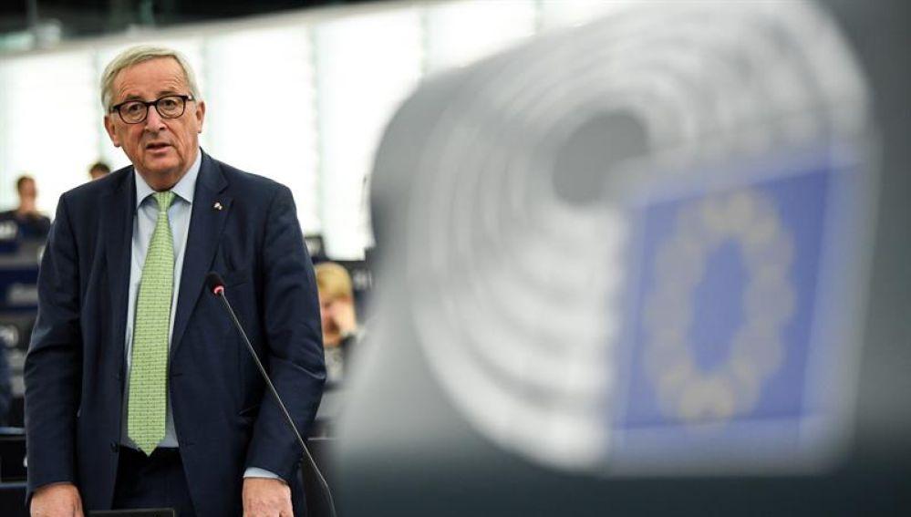 El presidente de la Comisión Europea, Jean -Claude Juncker