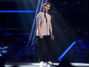 Marlo canta 'Jan of hearts' en las 'Audiciones a ciegas' de 'La Voz'