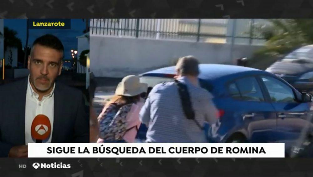 Registro en el domicilio del detenido acusado de la desaparición de Romina