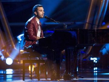 Sergio Jiménez canta 'Lluvia en el cristal' en las 'Audiciones a ciegas de 'La Voz'