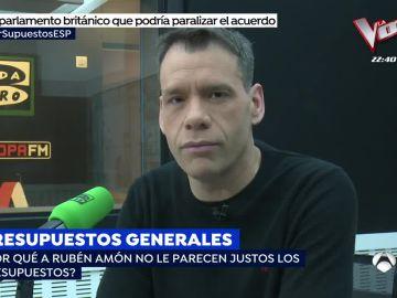 Rubén Amón en Onda Cero.