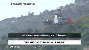"""El padre de Julen, el pequeño atrapado en un pozo de Totalán, denuncia falta de medios: """"Estamos muertos"""""""