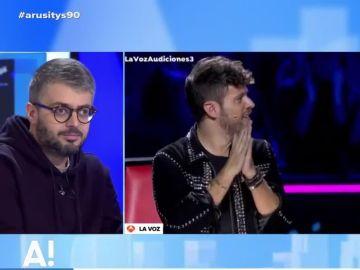 debate de Arusitys sobre 'La Voz'