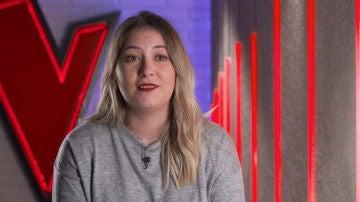 Vídeo presentación María Espinosa audiciones a ciegas