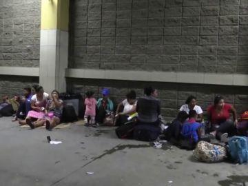 500 hondureños inician una nueva caravana con la idea de llegar a EE.UU.