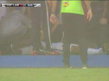 Un futbolista pierde el conocimiento tras caerle un rayo encima en un partido de juveniles en Brasil