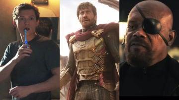 Los protagonistas de 'SpiderMan: Lejos de casa'