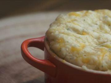 Cheddar Biscuit al microondas
