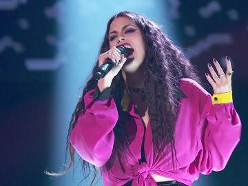 Lola Jiménez canta 'Nostalgias' en las 'Audiciones a ciegas' de 'La Voz'