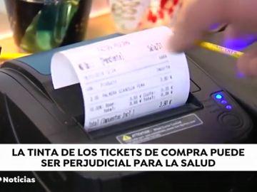 Guardar los tickets de compra puede provocar cáncer
