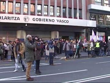 Huelga en la enseñanza concertada vasca