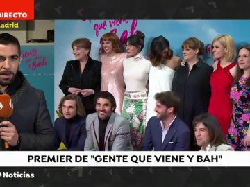 """""""Gente que viene y bah"""": el preestreno en Madrid"""