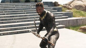 Michael B. Jordan como Killmonger en 'Black Panther'