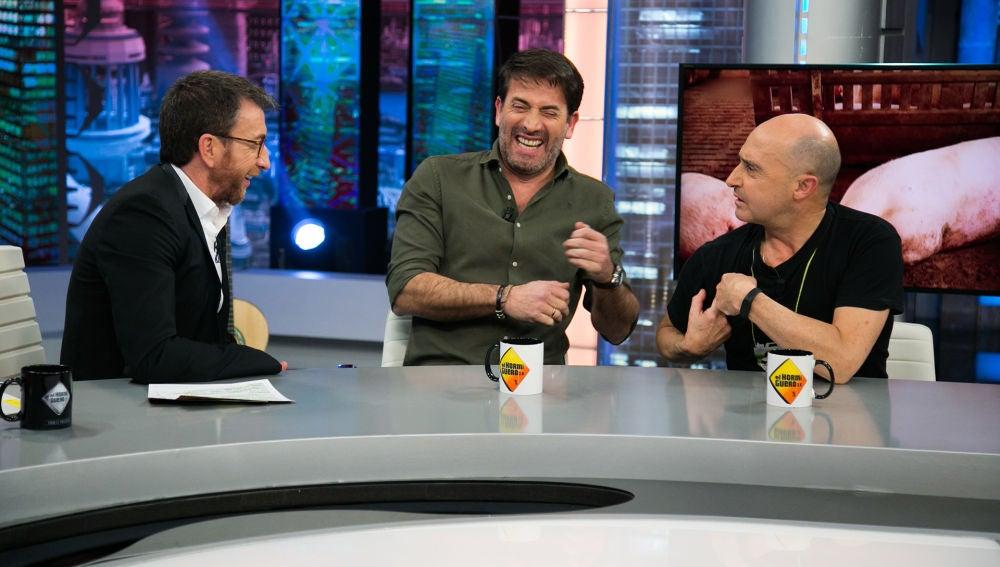 """Antonio Garrido, sobre su muerte en 'Matadero': """"Soy el primero de muchos que van a ir cayendo"""""""