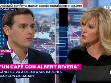 """Albert Rivera: """"El PSOE de Sánchez cada vez es más extremista y está más cerca de Podemos"""""""