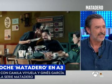 """Ginés García Millán sobre 'Matadero': """"Es una serie muy española, es un espejo con mucho sentido del humor"""""""