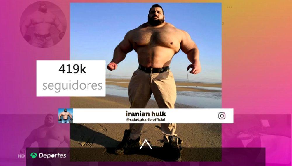 El 'Hulk iraní' se quiere subir al ring: cambia las pesas por las artes marciales mixtas