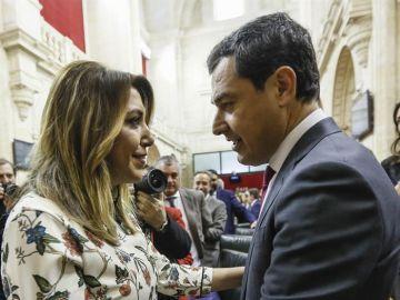 Juanma Moreno y Susana DíazE