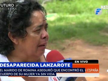 """La madre de Romina, la mujer desparecida en Lanzarote: """"No pierdo la esperanza de que mi hija me llame"""""""