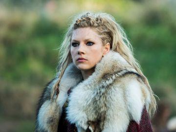 La actriz Katheryn Winnick como Lagertha en 'Vikingos'