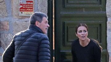 Paula Echevarría y su exsuegro Gervasio Bustamante
