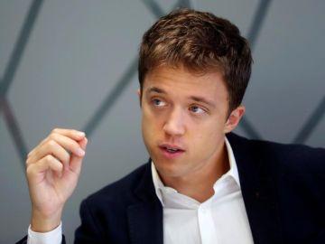 El candidato a la Presidencia de la Comunidad de Madrid, Íñigo Errejón