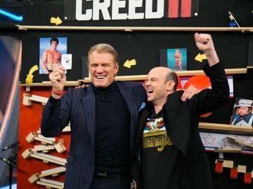 Jandro homenajea a la saga completa de 'Rocky'