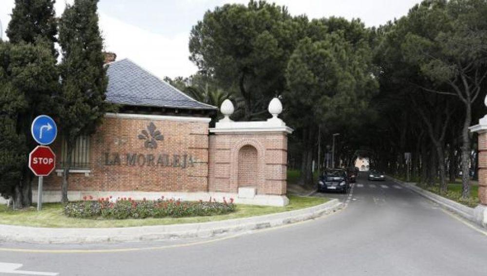 Entrada al barrio de La Moraleja en Madrid.