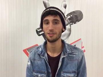 Pablo Salvatierra confiesa cómo vivió el concurso de Europa FM que le llevó hasta el escenario de las 'Audiciones a ciegas' de 'La Voz'