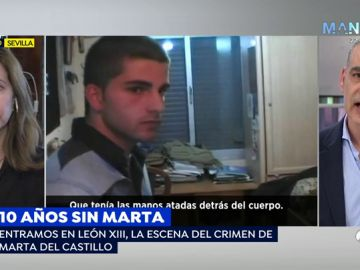 Nacho Abad se emociona hasta las lágrimas al recordar a Marta del Castillo con su madre