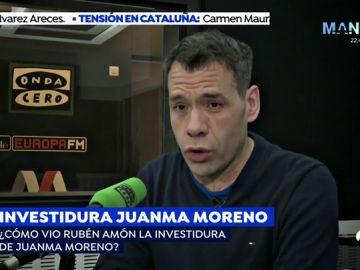 """Rubén Amón: """"Veremos si Ciudadanos es capaz de coexistir con la testosterona de Abascal"""""""