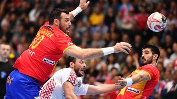 La selección española de balonmano se enfrenta a Croacia en el Mundial