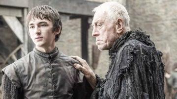 Isaac Hempstead Wright como Bran en 'Juego de Tronos'