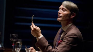 Mads Mikkelsen en 'Hannibal'