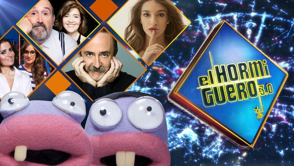 La próxima semana visitarán 'El Hormiguero 3.0' Silvia Abril, Ana Morgade, Javier Cámara, María Pujalte, Santi Rodríguez y Ana Guerra