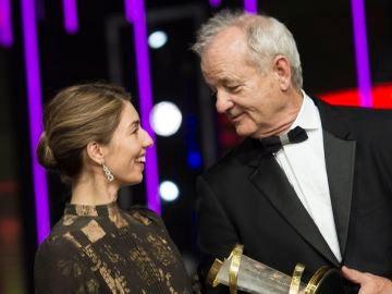 Sofia Coppola y Bill Murray