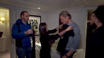 La campeona del mundo de boxeo Joana Pastrana y Dolph Lundgren, reunidos por el estreno de Creed II