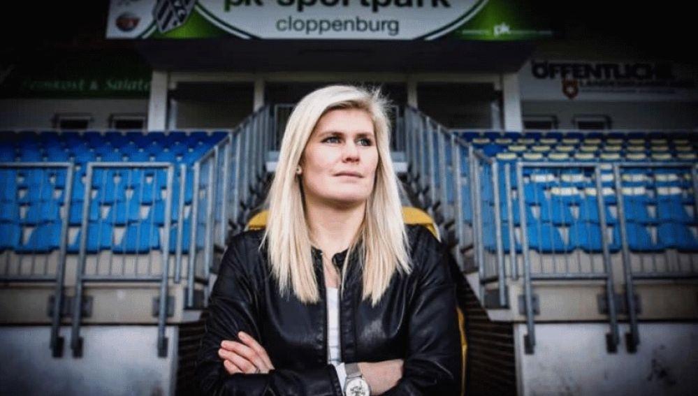 Imke Wübbenhorst, entrenadora del BV Cloppenburg