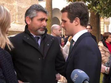 Juan José Cortés y Pablo Casado