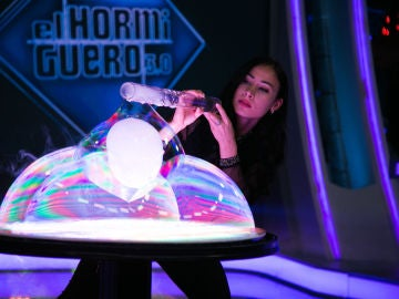 Arte con burbujas en 'El Hormiguero 3.0'