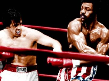 Rocky y Apollo Creed