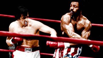 Rocky y Apollo Creed