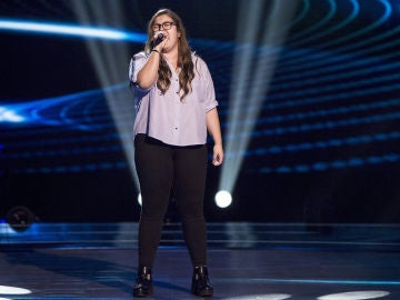 VÍDEO: Jennyfer Seco canta 'Skin' en las 'Audiciones a ciegas' de 'La Voz'