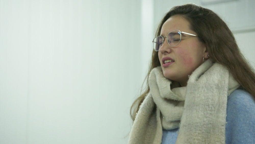 El vocal coach ayuda a potenciar la voz de Auba Murillo