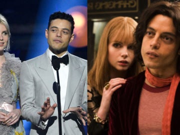 Lucy Boynton y Rami Malek, protagonistas de 'Bohemian Rhapsody'