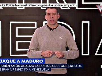 """Rubén Amón analiza la situación en Venezuela: """"Pedro Sánchez le tiende una mano a Guaidó y otra a Maduro"""""""