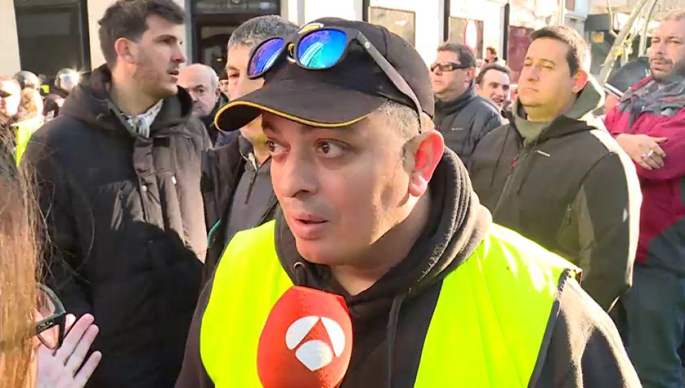 """Tito Álvarez: """"Cómo un ministro que es de izquierdas manda a trabajadores a reprimir a otros trabajadores"""""""