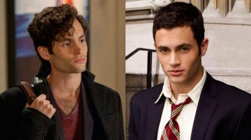 Penn Badgley, Joe en 'You' y Dan en 'Gossip Girl'