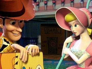 Bo Peep y Woody en 'Toy Story'