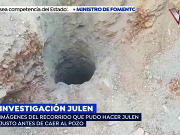 Sale a la luz la reconstrucción de la Guardia Civil del recorrido que hizo Julen antes de caer al pozo